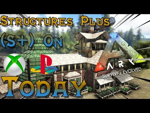 Ark Biggest Update - Structures Plus Xbox/PS4 - YouTube