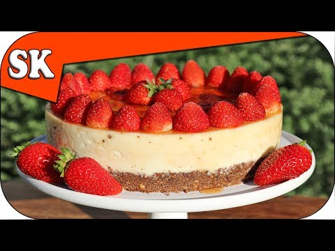 STRAWBERRY CHEESECAKE - No Bake - Mothers Day