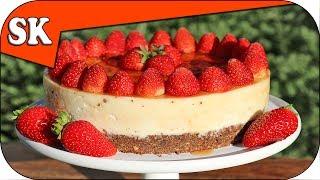 STRAWBERRY CHEESECAKE - No Bake