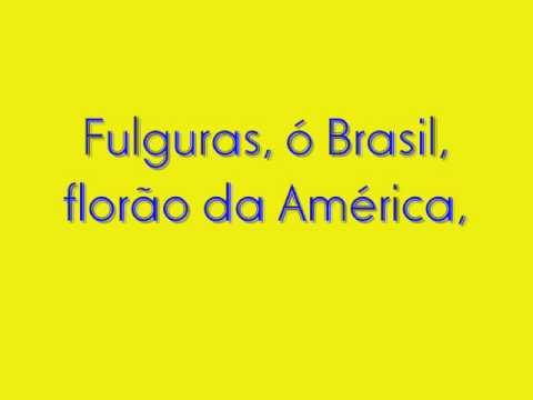 Hino Nacional Brasileiro Completo(Com Letra)