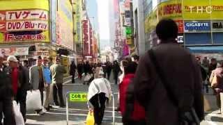 Akihabara Electric City Tokyo Japan 2014 Winter Maid Street 秋葉原 電気街 メイド通り バーチャル散歩