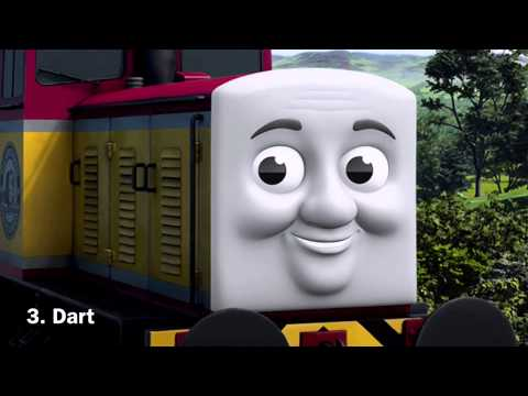 Top 5 Thomas and Friends Characters from Day Of The Diesels