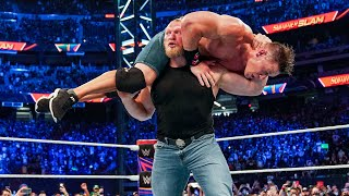 Brock Lesnar s craziest F 5s to John Cena