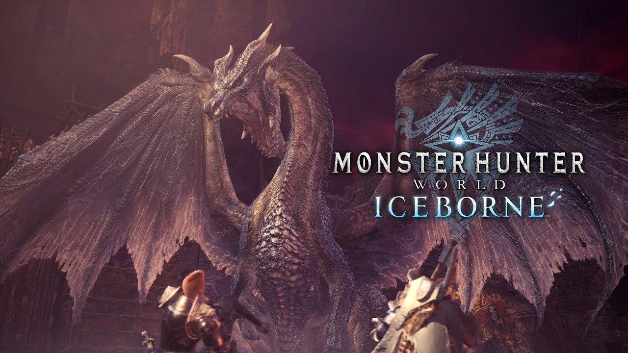 PS4《Monster Hunter World: Iceborne》免費大型更新第五彈 - 黑龍