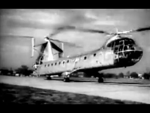 Piasecki YH-16A Transporter Newsreel - 12/5/55