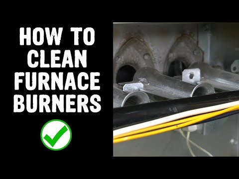 How To Clean Furnace Burners
