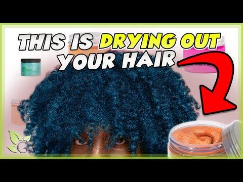 Science of Temporary Hair Dye | NATURAL HAIR