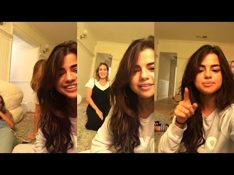Selena Gomez | Birthday Instagram Live Stream | 22 July 2017 [FULL]