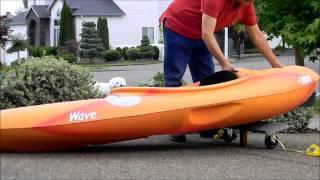 Diy Kayak Cart Carpet Ride For Petrie