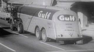 1961- NBC SPECIAL NEWS REPORT Show Open with GULF COMMERCIALS