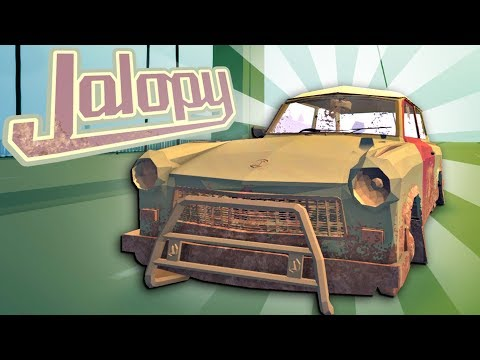 THIS CAR IS GOING TO EXPLODE! - Jalopy Full Release - Jalopy Gameplay