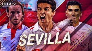Sevilla | GREATEST European Goals & Highlights | Navas, Rakitic, Reyes | BackTrack