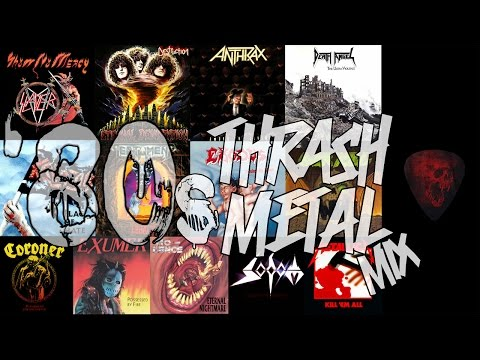 80s Thrash Metal Mix