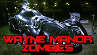 ZOMBIES Attack Batman's WAYNE MANOR! ★ (CoD Custom Zombies Maps/Mods Gameplay)