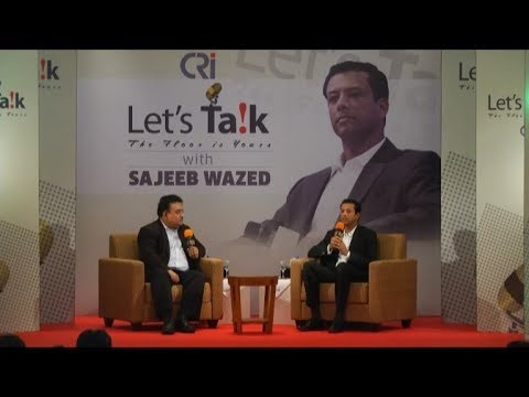 Let's Talk with Sajeeb Wazed Joy - July 31, 2017