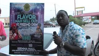 flavor friday Nah sell Out Hosted By KHAGO