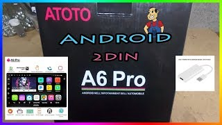 [Nouveau] ATOTO A6 2DIN Android  (installation complet Mercedes c 220 w203 )