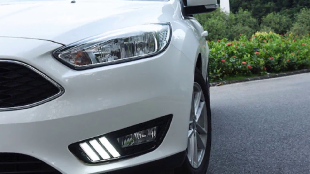 iJDMTOY Ford Focus LED Daytime Running Lights in Mustang Style - YouTube