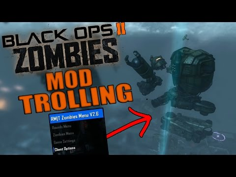 Black ops 2 Zombie Mod Trolling! (THE ROBOT IS DESTROYED)