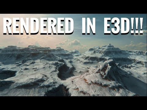 Amazing Landscapes in Element 3D! (Terrascape Overview)