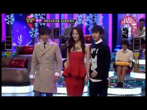 """121204 Strong Heart Ep 157 """"Eunhyuk Topmodel"""""""