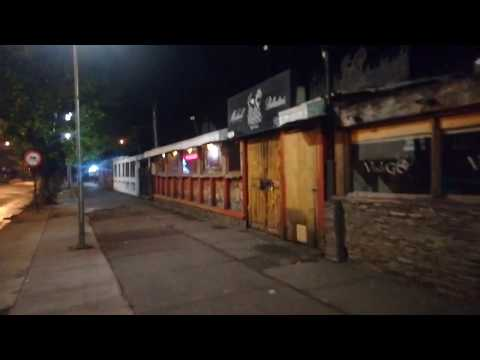 "MADRUGADA ""PELIGROSA"" EN TEMUCO CHILE, Av Alemania"