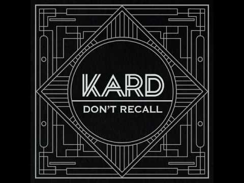 [MP3 Ver.] K.A.R.D - Don't Recall (Inst. / MR / Karaoke) (by M-wei)