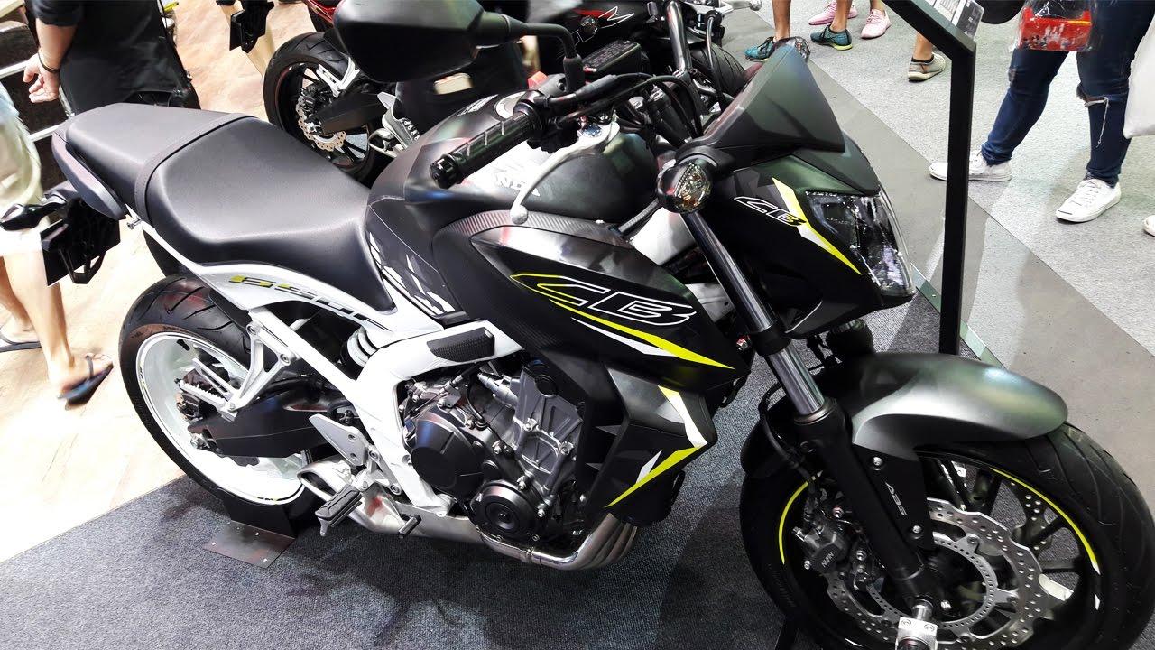 Honda CB650F 2017 - YouTube