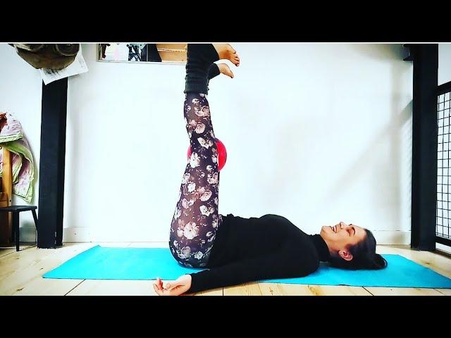Yoga PostParto 👉👉 suelo pélvico & abdomen 💪🔝