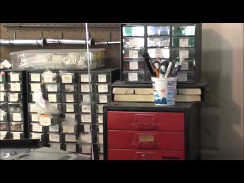 What Tools Are In A Brass and Woodwind Musical Instrument Repair Shop Daily Vlog 5-21-14
