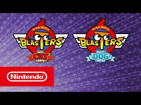 YO-KAI WATCH BLASTERS: Red Cat Corps & White Dog Squad - Announcement Trailer (Nintendo 3DS)