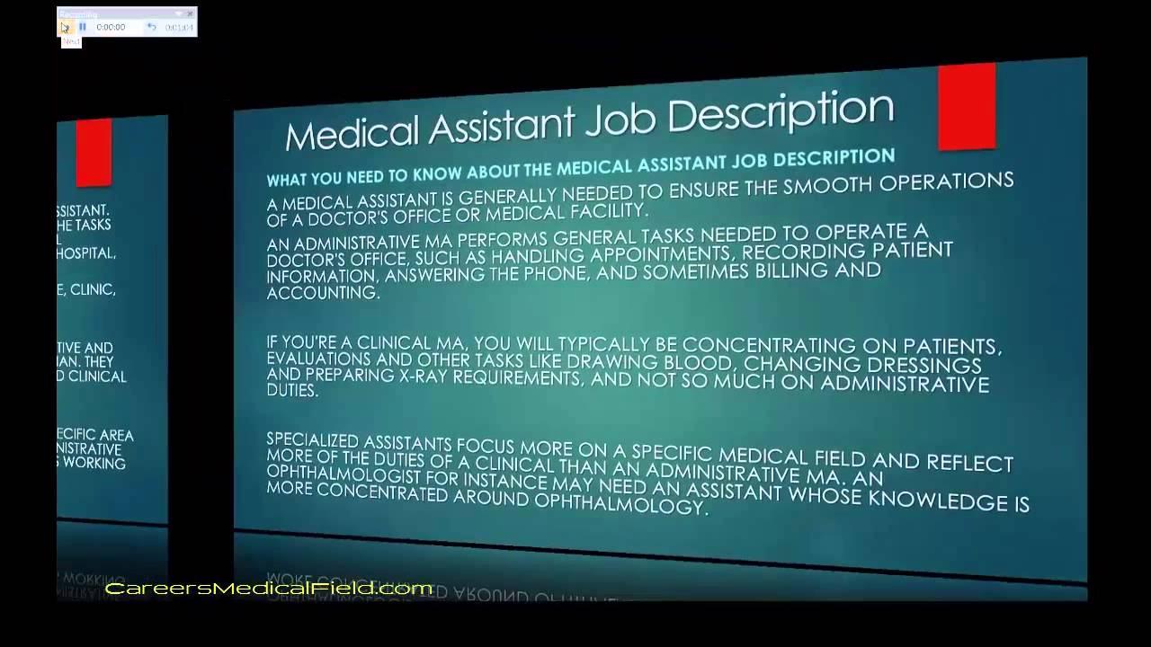 cma job description