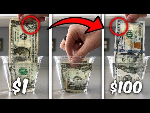 Turn $1 Into $100 Simple Trick! (Life Hacks)
