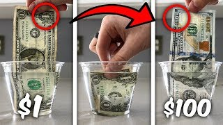 Turn $1 Into $100 Simple Trick! (Life Hacks)