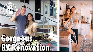 RV Renovation Tour! '01 Intruder becomes Beautiful Tiny Home