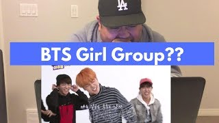 [Kpop] BTS (방탄소년단) Weekly Idol Girl Group Dance Cover REACTION!!!!!!