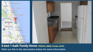 3-bed 1-bath Family Home for Sale in Mims, Florida on florida-magic.com