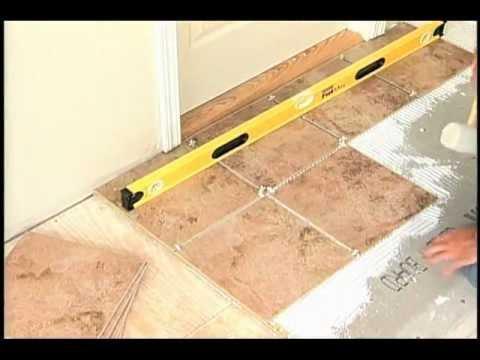 安裝磁磚地板 (國語)