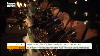 Wachbataillon - Großer Zapfenstreich Berlin 10.03.2011