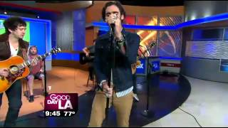 """All-American Rejects perform """"Walk Over Me"""" on Good Day LA"""