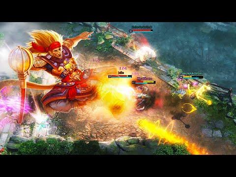 Super Saiyan Monkey King   HoN Gameplay  