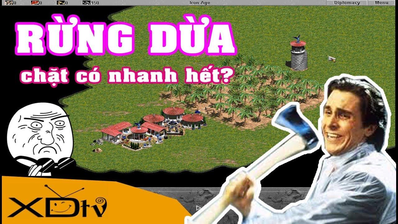 AOE Wiki: Có thật rừng dừa chặt nhanh hết? | Age of Empires XDtv AOE