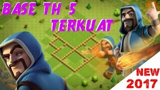 New 2017 | base coc th 5 terkuat | base th 5 terbaik | anti bintang 3 | buatbase th 5
