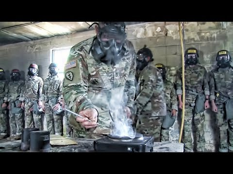 The CS Gas Chamber • Army Tear Gas Training להורדה