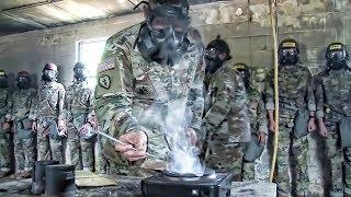 The CS Gas Chamber • Army Tear Gas Training