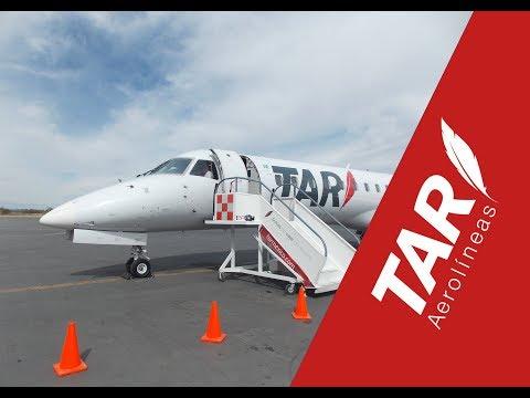 TAR Aerolíneas, Embraer 145   Puerto Vallarta to San Luis Potosí (full flight).