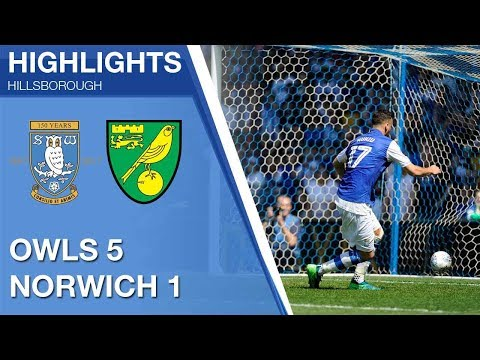 Sheffield Wednesday 5 Norwich City 1 | Extended highlights | 2017/18