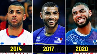 The Rise Of Earvin Ngapeth | Entire Career in the National Team