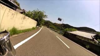 和歌山県道25号御坊中津線(カット無し)