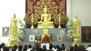 หลวงพ่อปราโมทย์ แสดงธรรม ณ วัดสวนสันติธรรม 8 ก.ค. 2560 วันอาสาฬหบูชา ช่วงสาย